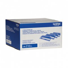 Brother DR210CL OEM Laser Drum Unit Set (Toner not Included)