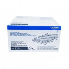 Brother DR211CL OEM Laser Drum Unit Set (Toner not Included)