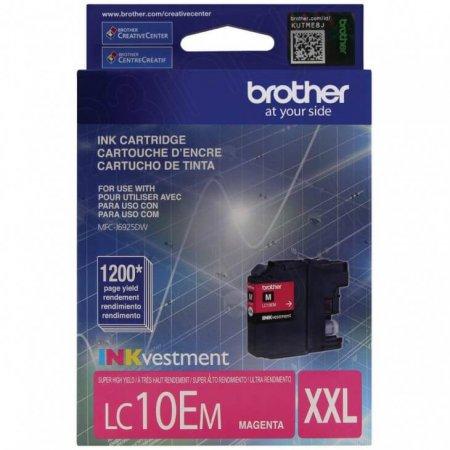 Original Brother LC10EM Super High Yield Magenta Ink Cartridges