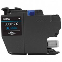 Brother OEM LC3017C High Yield Cyan Ink Cartridges