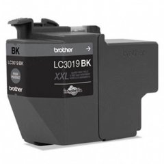 Brother OEM LC3019BK Super High Yield Black Ink Cartridges