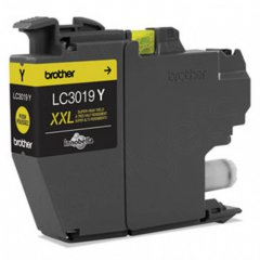 Brother OEM LC3019Y Super High Yield Yellow Ink Cartridges