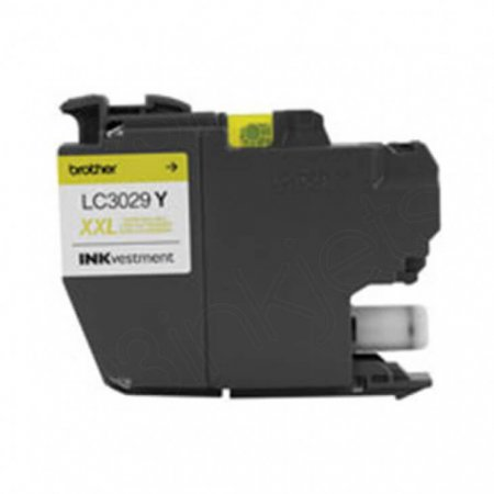 Original Brother LC3029Y Super High Yield Yellow Ink Cartridges