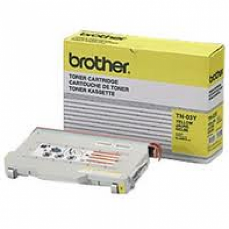Brother TN03Y Yellow OEM Laser Toner Cartridge