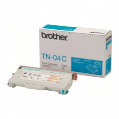 Brother TN04C Cyan OEM Laser Toner Cartridge