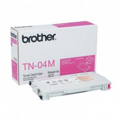 Brother TN04M Magenta OEM Laser Toner Cartridge