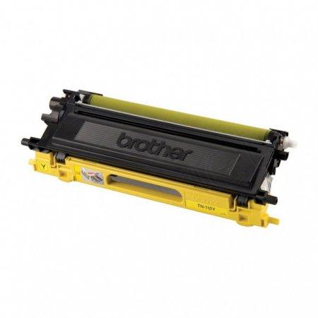 Brother TN110Y Yellow OEM Laser Toner Cartridge