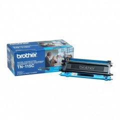 Brother TN115C High Yield Cyan OEM Laser Toner Cartridge