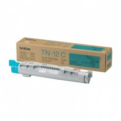 Brother TN12C Cyan OEM Laser Toner Cartridge