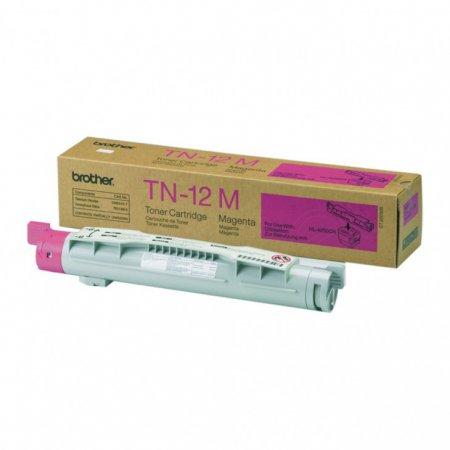 Brother TN12M Magenta OEM Laser Toner Cartridge