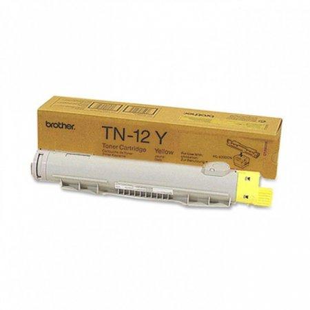 Brother TN12Y Yellow OEM Laser Toner Cartridge