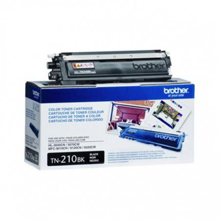 Brother TN210BK Black OEM Laser Toner Cartridge