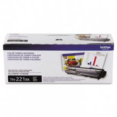 Brother TN221BK Black OEM Laser Toner Cartridge