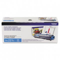 Brother TN221C Cyan OEM Laser Toner Cartridge