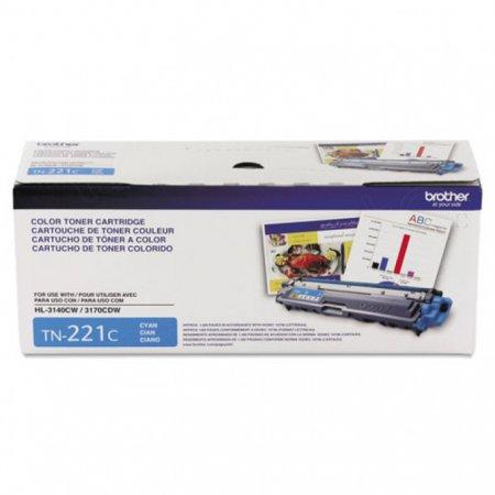 Brother TN221C Cyan OEM Laser Toner Cartridge