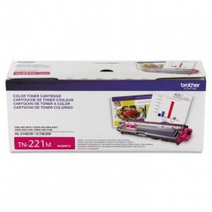 Brother TN221M Magenta OEM Laser Toner Cartridge