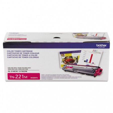 Brother TN221M Magenta OEM Laser Toner Cartridge