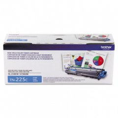 Brother TN225C High Yield Cyan OEM Laser Toner Cartridge