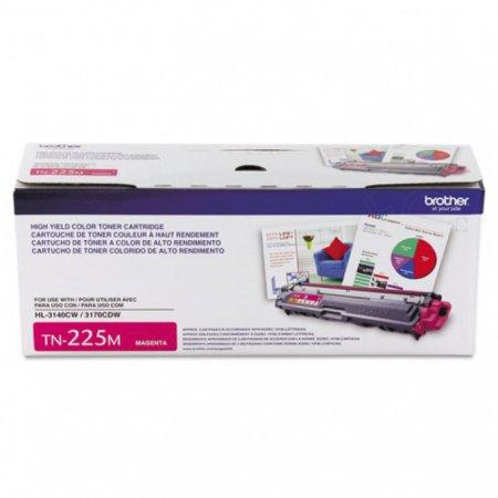 Brother TN225M High Yield Magenta OEM Laser Toner Cartridge