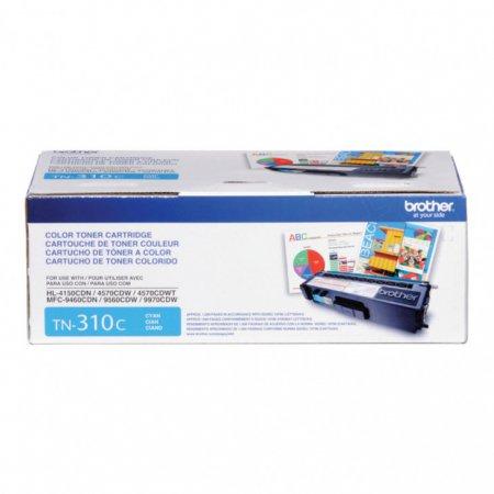 Brother TN310C Standard Yield Cyan OEM Toner Cartridge