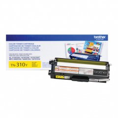 Brother TN310Y Yellow OEM Laser Toner Cartridge
