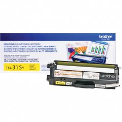 Brother TN315Y High Yield Yellow OEM Laser Toner Cartridge