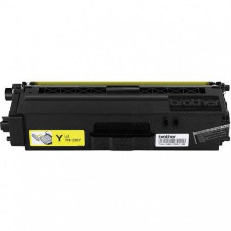 Brother TN336Y HY Yellow OEM Toner Cartridge