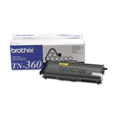 Brother TN360 High Yield Black OEM Laser Toner Cartridge