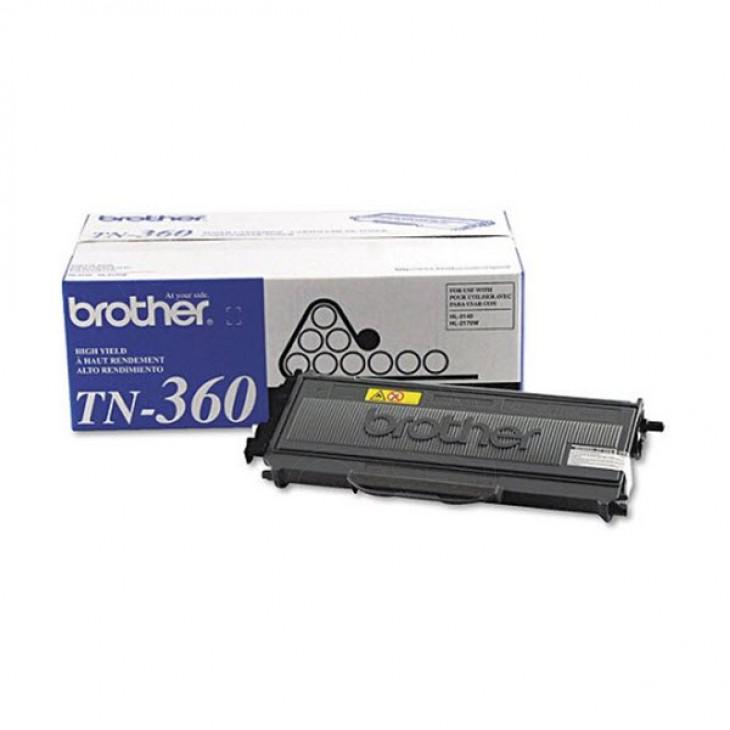 Brother TN360 High Yield Black OEM Laser Toner Cartridge