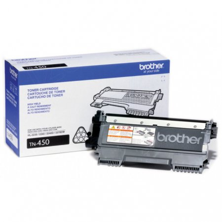 Brother TN450 High Yield Black OEM Laser Toner Cartridge