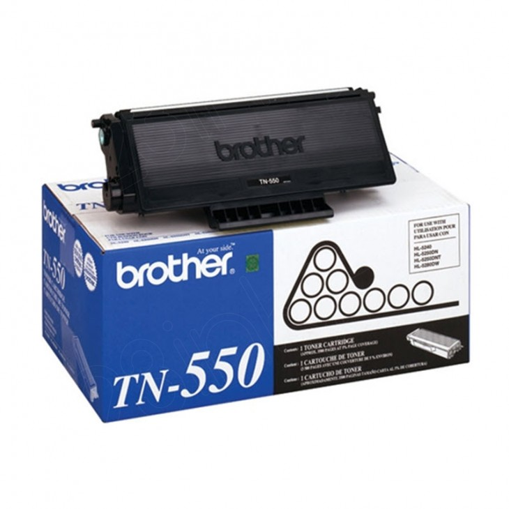Brother TN550 Standard Yield Black OEM Toner Cartridge