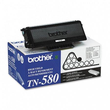 Brother TN580 High Yield Black OEM Laser Toner Cartridge