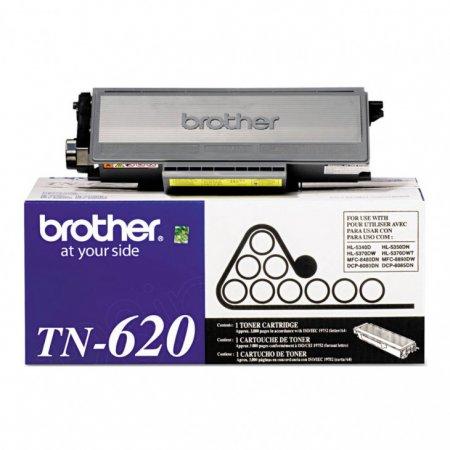 Brother TN620 Standard Yield Black OEM Toner Cartridge