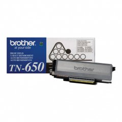 Brother TN650 High Yield Black OEM Laser Toner Cartridge