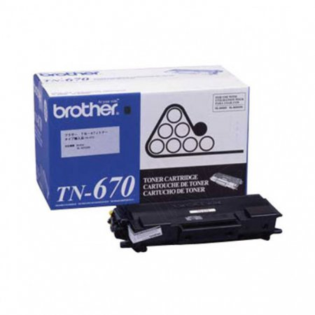 Brother TN670 Black OEM Laser Toner Cartridge