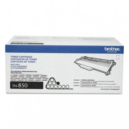 Brother TN850 High Yield Black OEM Laser Toner Cartridge