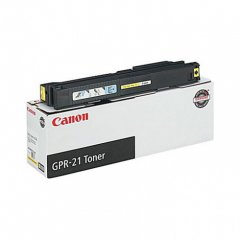 Canon 0259B001AA (GPR-21) OEM Yellow Laser Toner Cartridge
