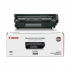Canon 0263B001AA (104) OEM Black Laser Toner Cartridge