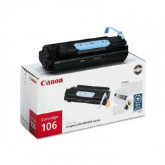Canon 0264B001AA (106) OEM Black Laser Toner Cartridge