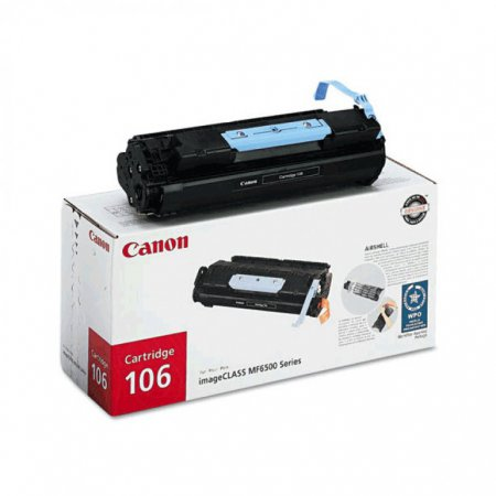 Canon 0264B001AA (106) OEM Black Laser Toner Cartridge