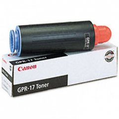 Canon 0279B003AA (GPR-17) OEM Black Laser Toner Cartridge
