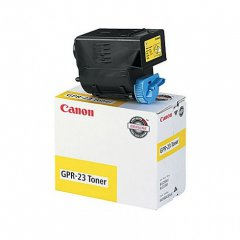 Canon 0455B003AA (GPR-23) OEM Yellow Laser Toner Cartridge