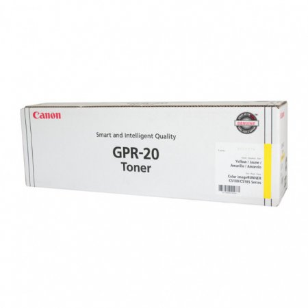 Canon 1066B001AA (GPR-20) OEM Yellow Laser Toner Cartridge