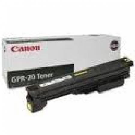 Canon 1069B001AA (GPR-20) OEM Black Laser Toner Cartridge