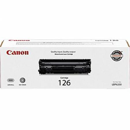 Canon 126 Black OEM Laser Toner Cartridge