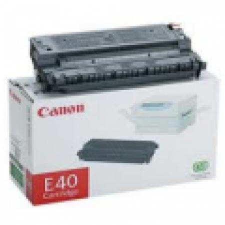 Canon 1491A002AA (E-40) OEM Black Laser Toner Cartridge