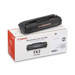 Canon 1557A002BA (FX-3) OEM Black Laser Toner Cartridge
