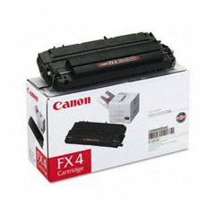 Canon 1558A002AA (FX-4) OEM Black Laser Toner Cartridge