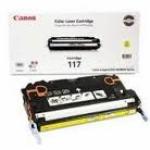 Canon 2575B001AA (CRG-117) OEM Yellow Laser Toner Cartridge