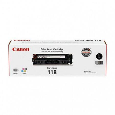Canon 2662B001AA (118) OEM Black Laser Toner Cartridge